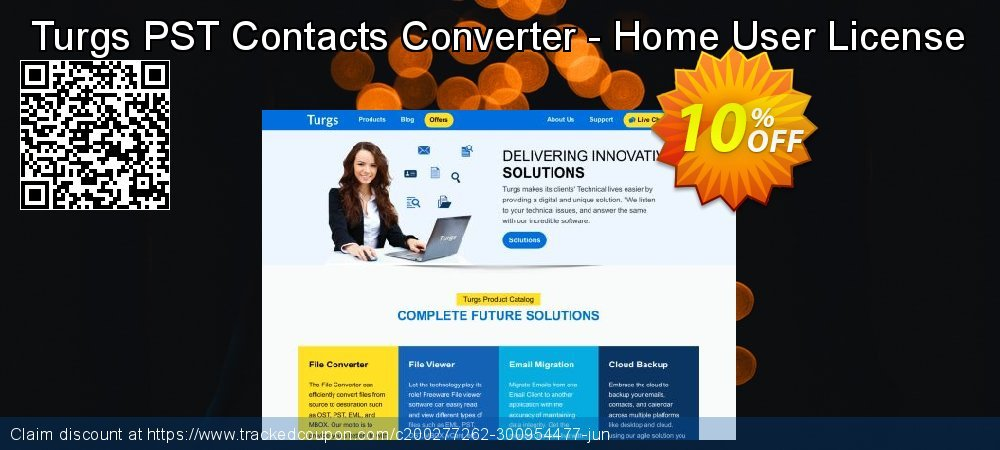 Turgs PST Contacts Converter - Home User License coupon on Autumn offer