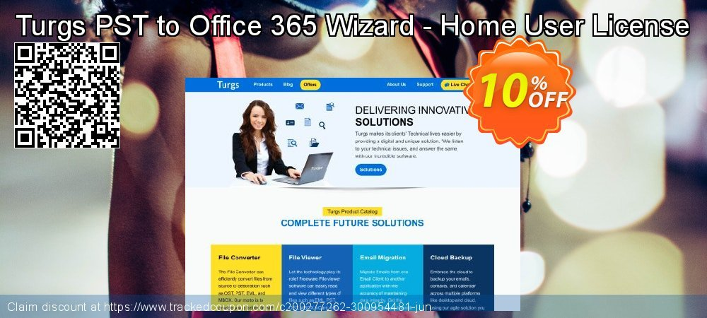 Turgs PST to Office 365 Wizard - Home User License coupon on American Chess Day super sale