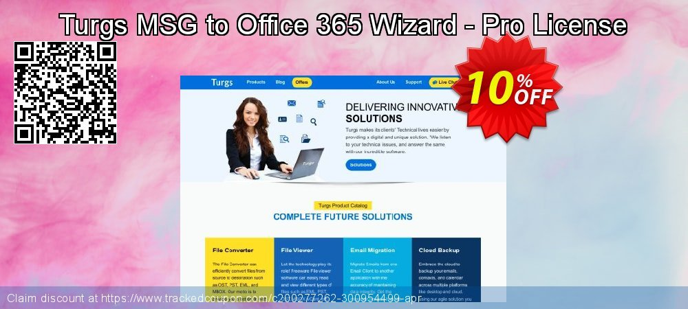 Turgs MSG to Office 365 Wizard - Pro License coupon on American Chess Day super sale