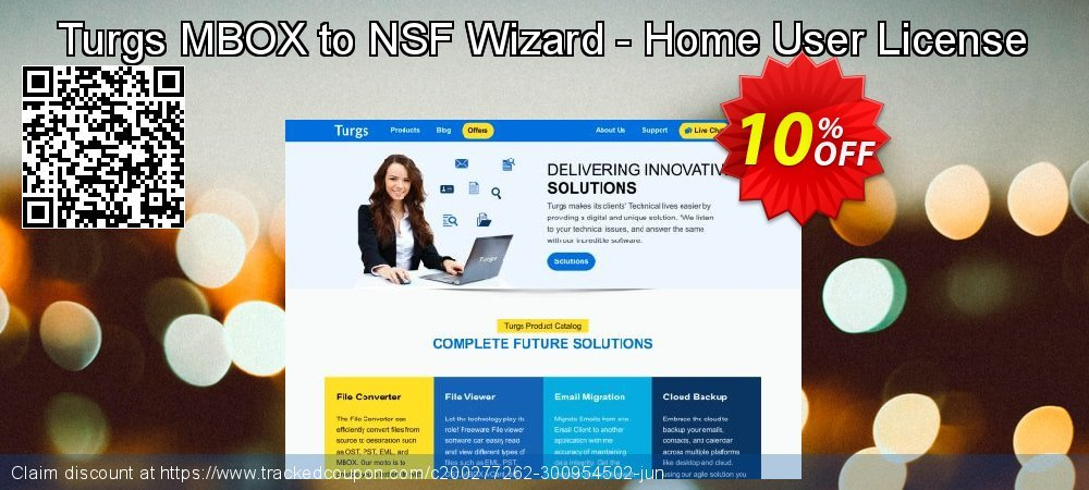 Claim 10% OFF Turgs MBOX to NSF Wizard - Home User License Coupon discount April, 2020