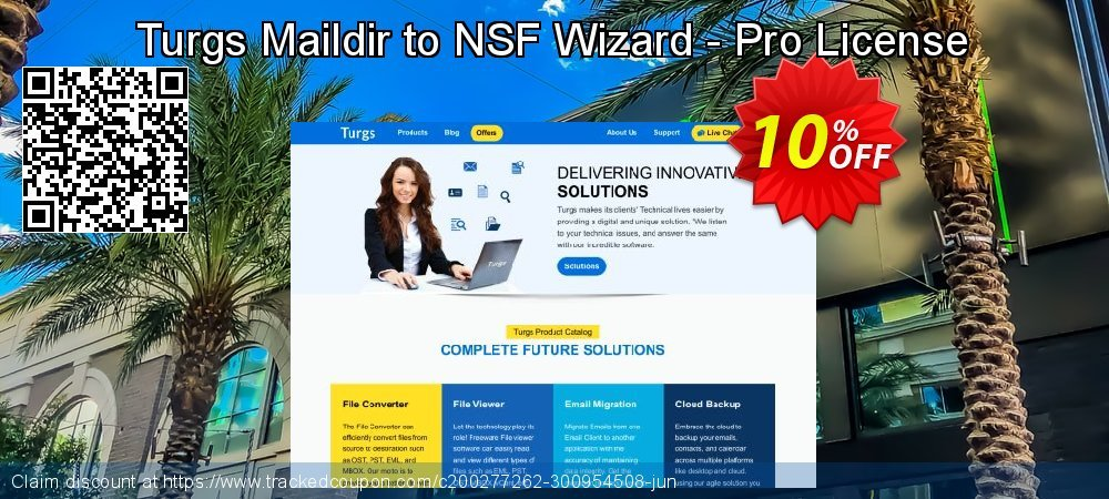Turgs Maildir to NSF Wizard - Pro License coupon on National Family Day super sale