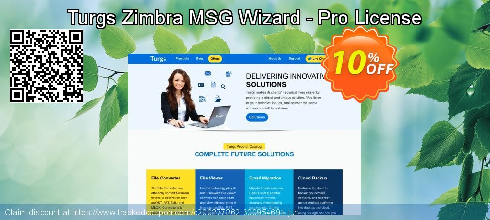 Turgs Zimbra MSG Wizard - Pro License coupon on National Cleanup Day sales