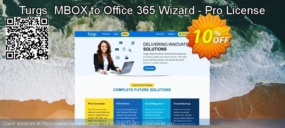 Turgs  MBOX to Office 365 Wizard - Pro License coupon on National Family Day offering discount