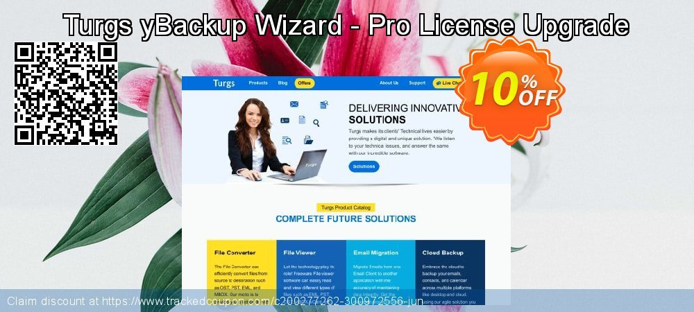 Turgs yBackup Wizard - Pro License Upgrade coupon on World Bollywood Day sales