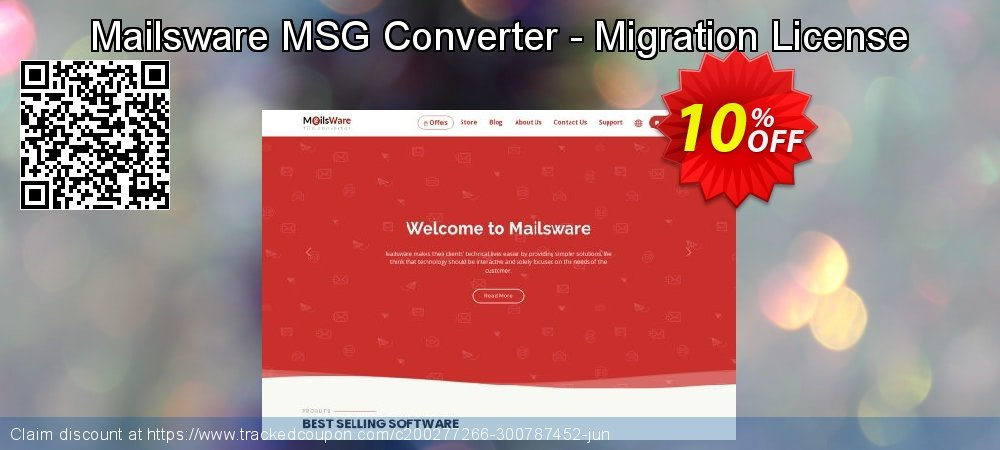 Mailsware MSG Converter - Migration License coupon on Talk Like a Pirate Day discount