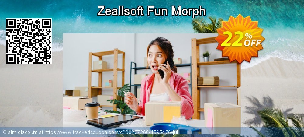 Zeallsoft Fun Morph coupon on Grandparents Day sales