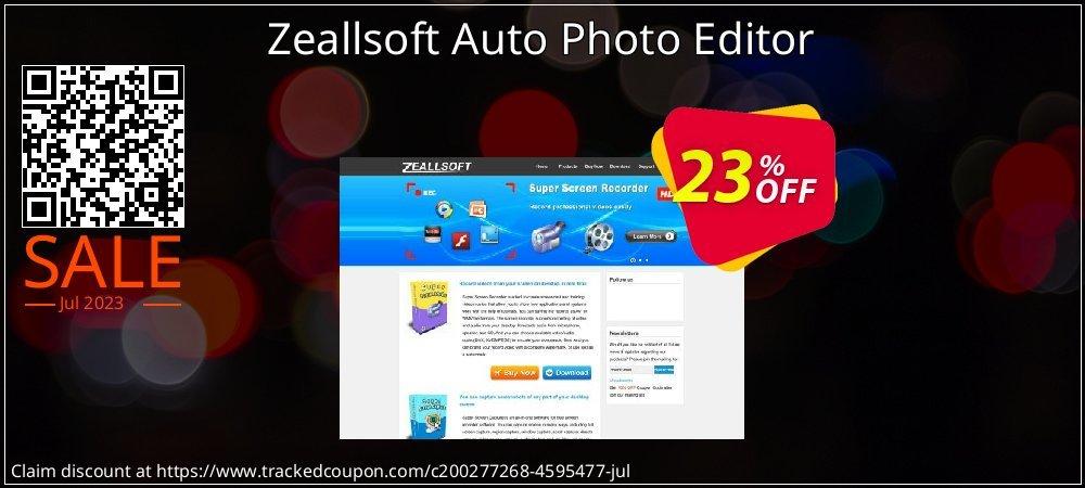Get 20% OFF Zeallsoft Auto Photo Editor offer