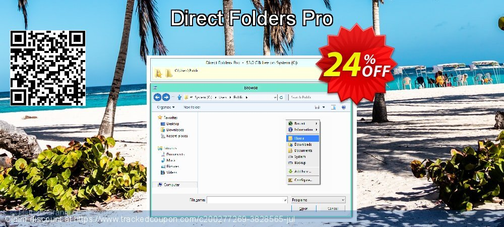 Direct Folders Pro coupon on Halloween promotions