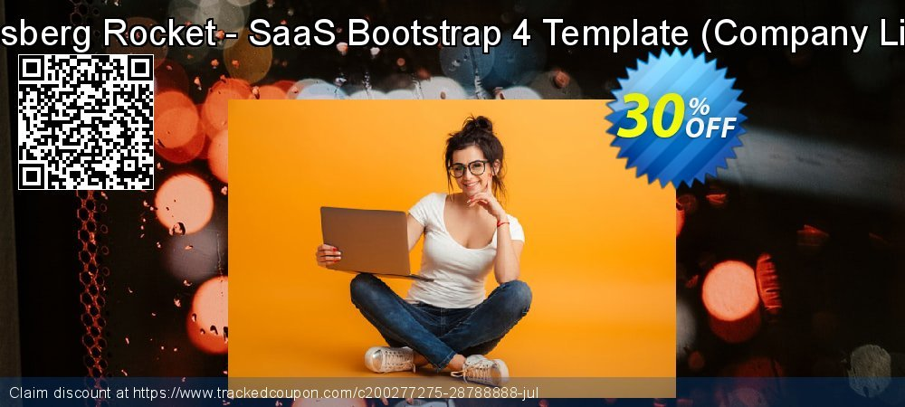 Themesberg Rocket - SaaS Bootstrap 4 Template - Company License  coupon on Father's Day super sale