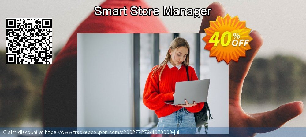 Smart Store Manager coupon on New Year offering sales