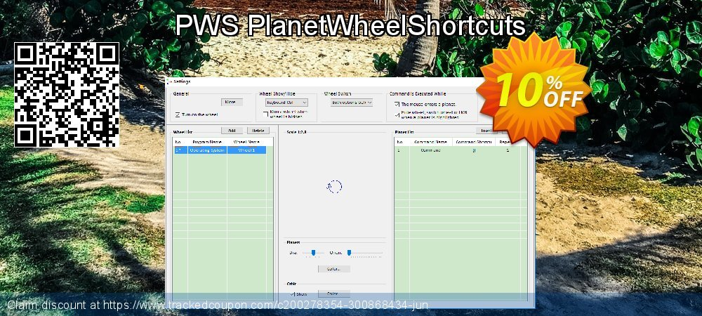 Get 10% OFF PWS PlanetWheelShortcuts offering discount