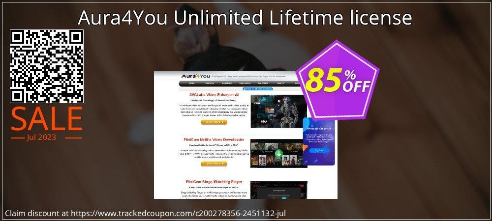 Get 85% OFF Aura4You Unlimited Lifetime license offering sales