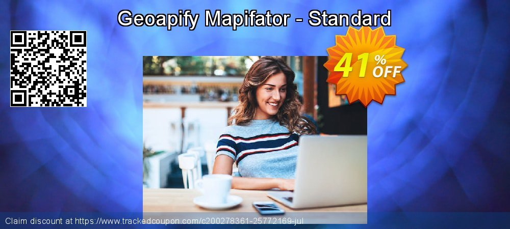 Get 40% OFF Geoapify Mapifator - Standard promo sales