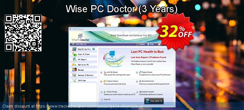 Wise PC Doctor - 3 Years  coupon on Father's Day sales