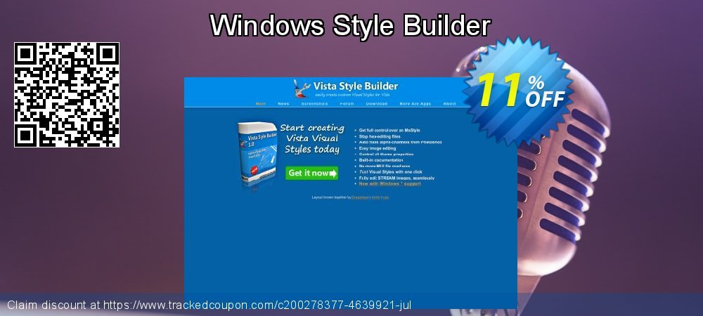 Windows Style Builder coupon on Summer discount