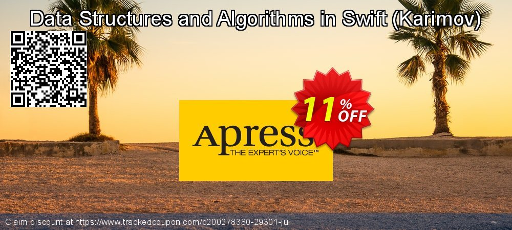 Get 10% OFF Data Structures and Algorithms in Swift (Karimov) offering sales