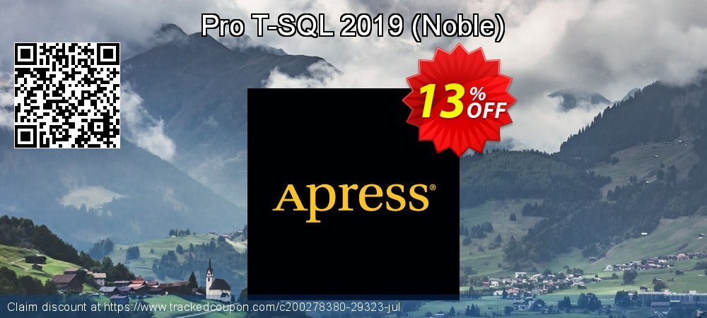 Pro T-SQL 2019 - Noble  coupon on Valentines Day offering discount