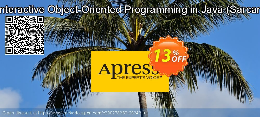 Get 10% OFF Interactive Object-Oriented Programming in Java (Sarcar) offering sales