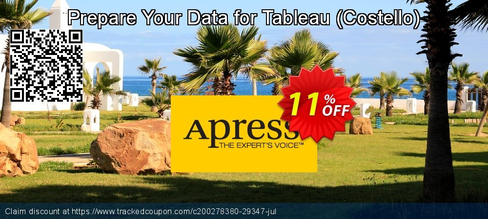 Get 10% OFF Prepare Your Data for Tableau (Costello) offering sales
