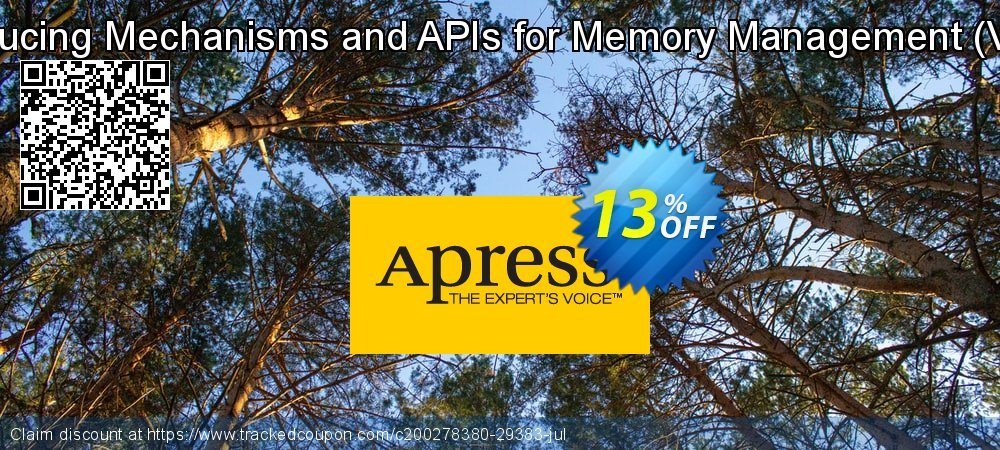 Get 10% OFF Introducing Mechanisms and APIs for Memory Management (Villela) promotions