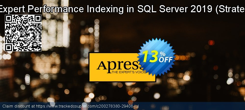Expert Performance Indexing in SQL Server 2019 - Strate  coupon on Int'l. Women's Day discounts