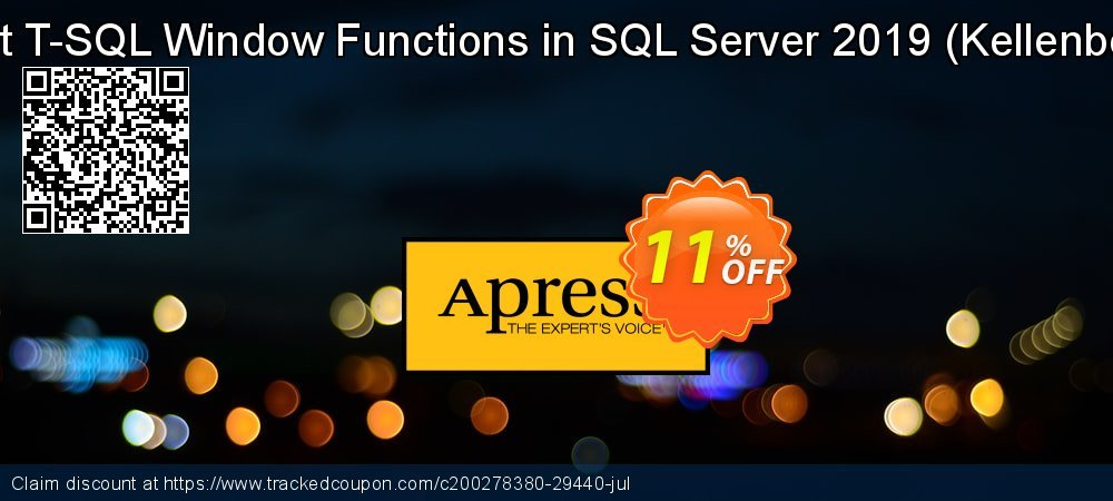 Expert T-SQL Window Functions in SQL Server 2019 - Kellenberger  coupon on Valentine Week offering discount