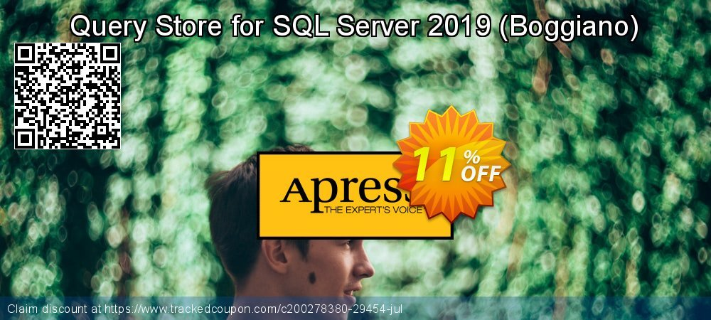 Query Store for SQL Server 2019 - Boggiano  coupon on Valentine's Day sales
