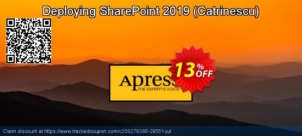 Deploying SharePoint 2019 - Catrinescu  coupon on Read Across America Day promotions