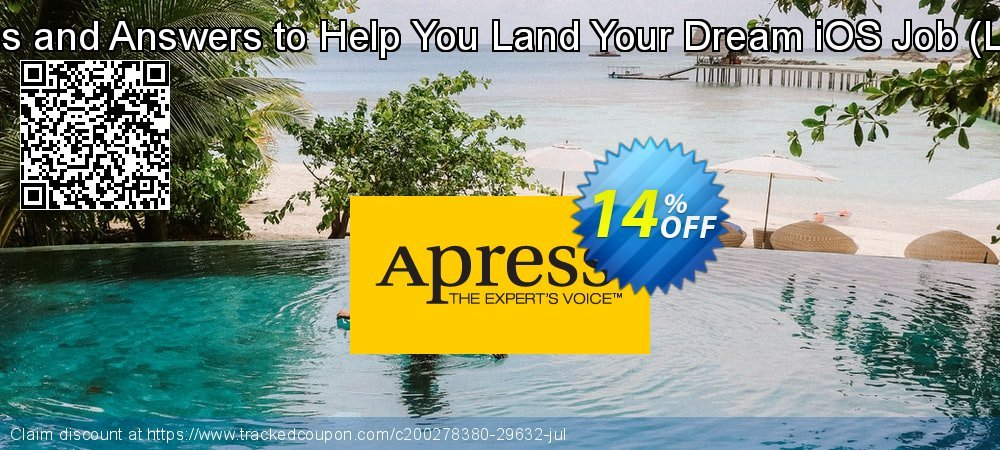 Get 10% OFF 100 Questions and Answers to Help You Land Your Dream iOS Job (López Mañas) deals