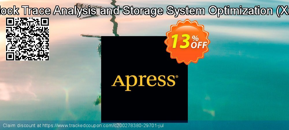 Get 10% OFF Block Trace Analysis and Storage System Optimization (Xu) offering sales