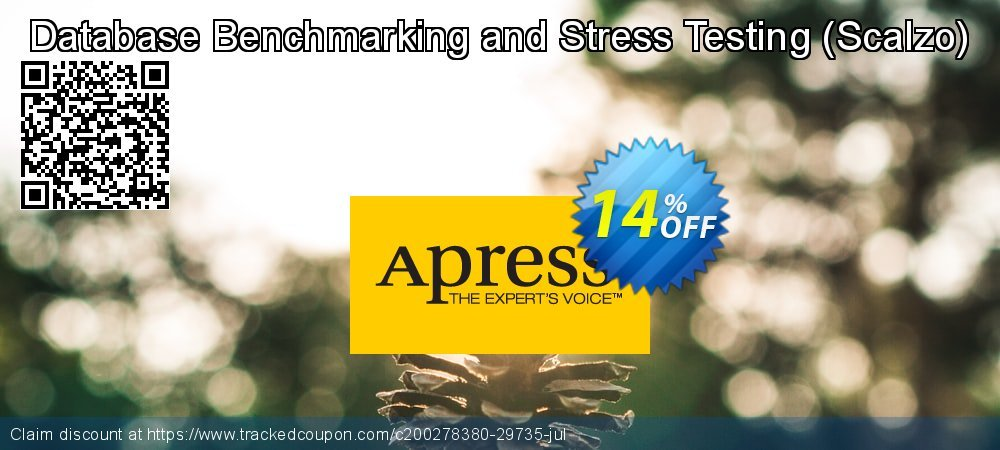 Get 10% OFF Database Benchmarking and Stress Testing (Scalzo) offering sales