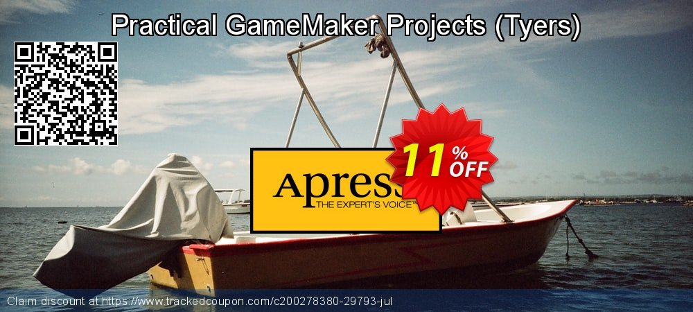Get 10% OFF Practical GameMaker Projects (Tyers) offering sales