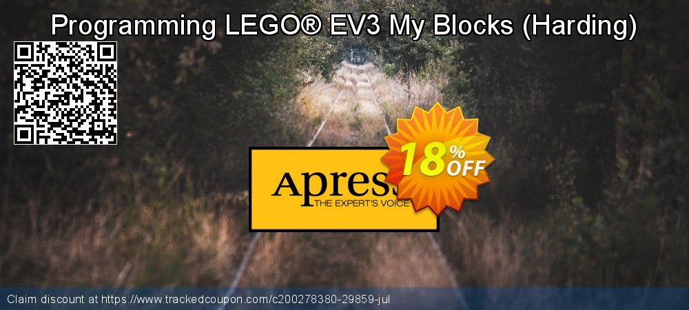 Get 10% OFF Programming LEGO® EV3 My Blocks (Harding) offering sales