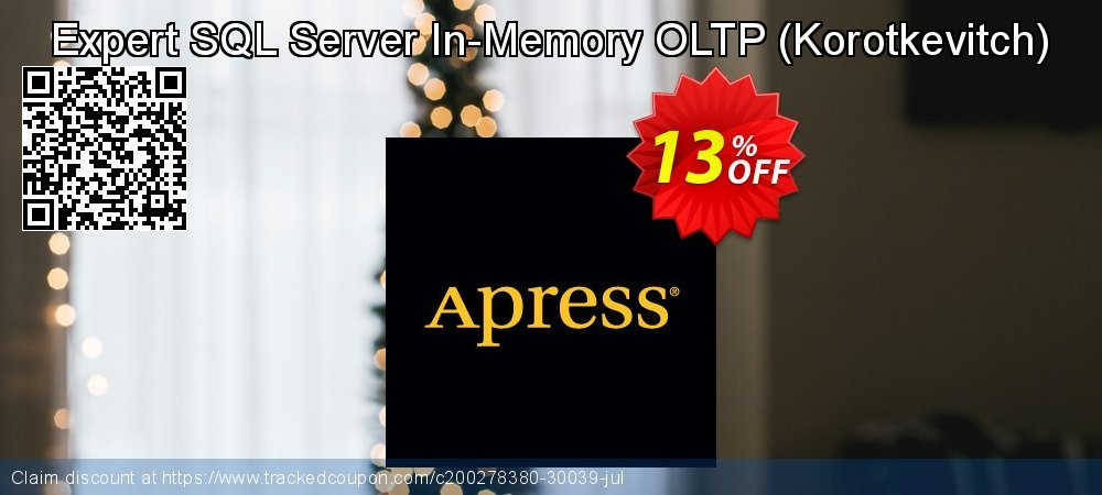 Expert SQL Server In-Memory OLTP - Korotkevitch  coupon on Student deals discounts