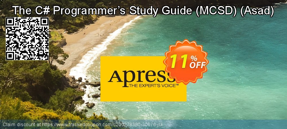 The C# Programmer's Study Guide - MCSD - Asad  coupon on Thanksgiving deals