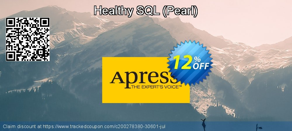 Get 10% OFF Healthy SQL (Pearl) offer
