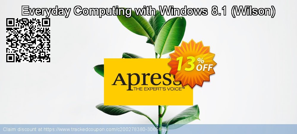 Get 10% OFF Everyday Computing with Windows 8.1 (Wilson) discounts