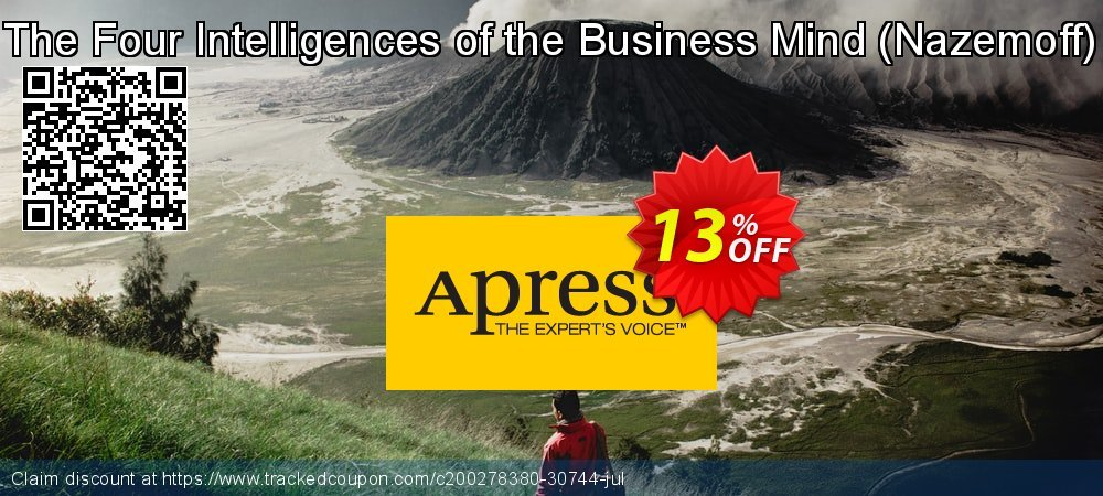 Get 10% OFF The Four Intelligences of the Business Mind (Nazemoff) offering sales