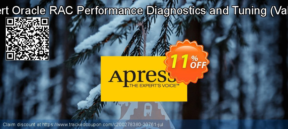 Expert Oracle RAC Performance Diagnostics and Tuning - Vallath  coupon on Back to School promo sales
