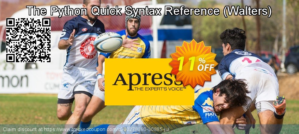 Get 10% OFF The Python Quick Syntax Reference (Walters) offering sales