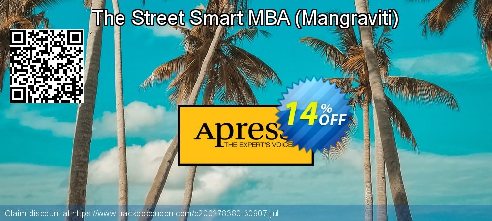 Get 10% OFF The Street Smart MBA (Mangraviti) offering sales