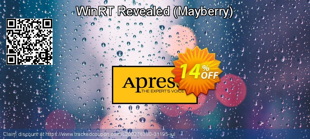 Get 10% OFF WinRT Revealed (Mayberry) offering sales