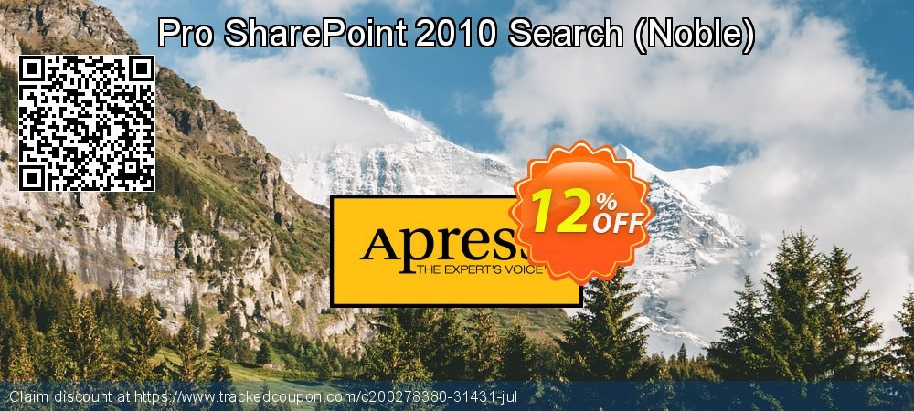 Get 10% OFF Pro SharePoint 2010 Search (Noble) offering sales