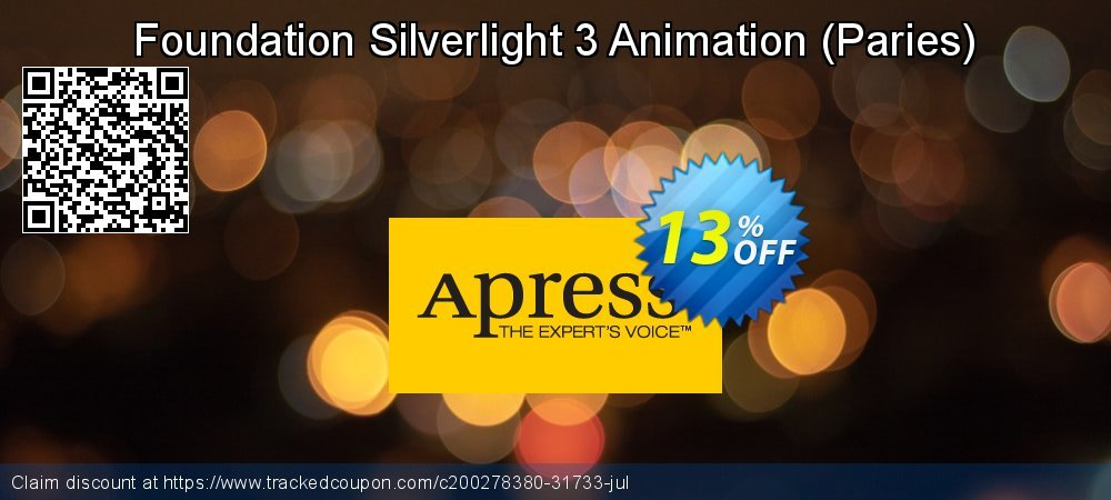 Get 10% OFF Foundation Silverlight 3 Animation (Paries) offering sales