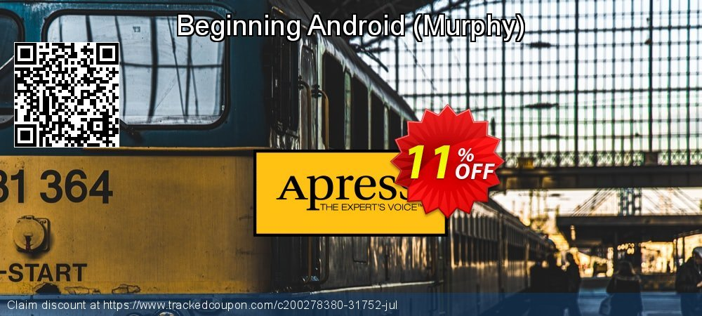 Beginning Android - Murphy  coupon on Thanksgiving discount