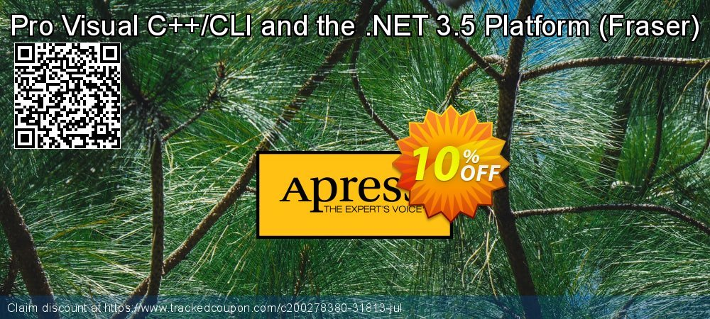 Get 10% OFF Pro Visual C++/CLI and the .NET 3.5 Platform (Fraser) offering sales