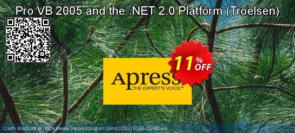 Pro VB 2005 and the .NET 2.0 Platform - Troelsen  coupon on New Year's Day discount