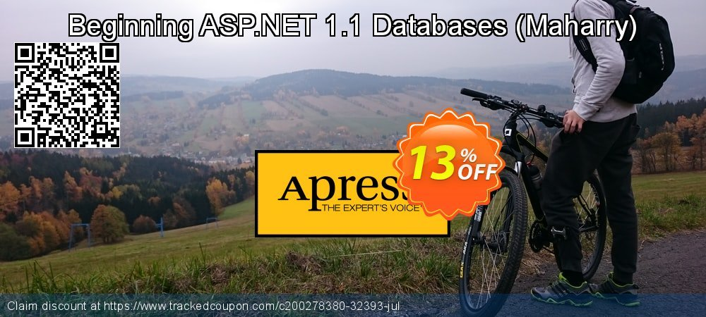 Beginning ASP.NET 1.1 Databases - Maharry  coupon on New Year's Day offering discount