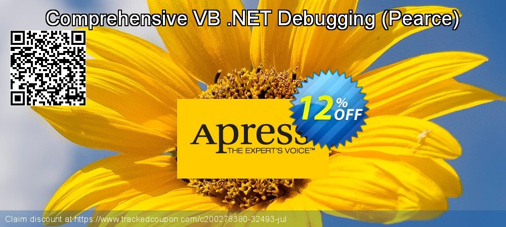 Comprehensive VB .NET Debugging - Pearce  coupon on New Year's Day offering sales