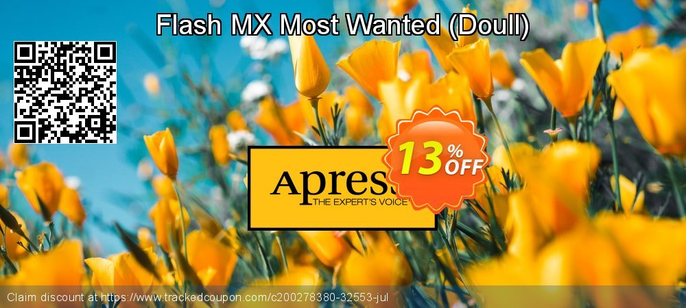Flash MX Most Wanted - Doull  coupon on Xmas offering discount